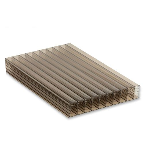 35mm Multiwall Polycarbonate Sheet Bronze